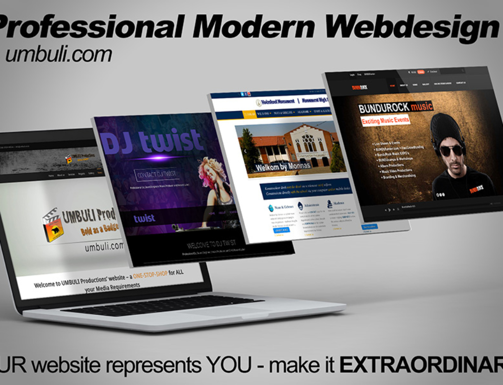 Professional Website Design & Hosting